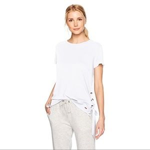 n:PHILANTHROPY $154 Gabe Lace-up Tee In White